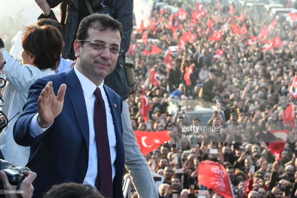 CHP Candidate Receives Istanbul Mayoral Mandate : News Photo