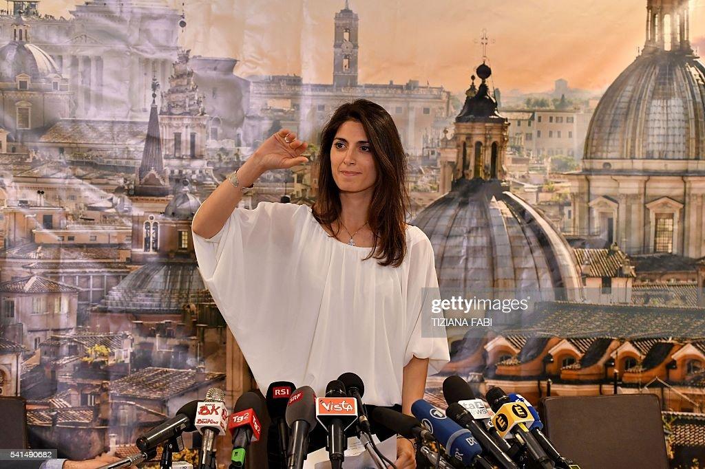 Virginia Raggi New Mayor of Rome