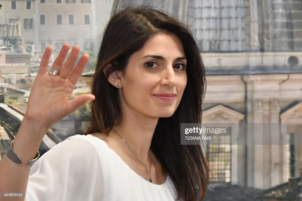 Virginia Raggi New Mayor of Rome
