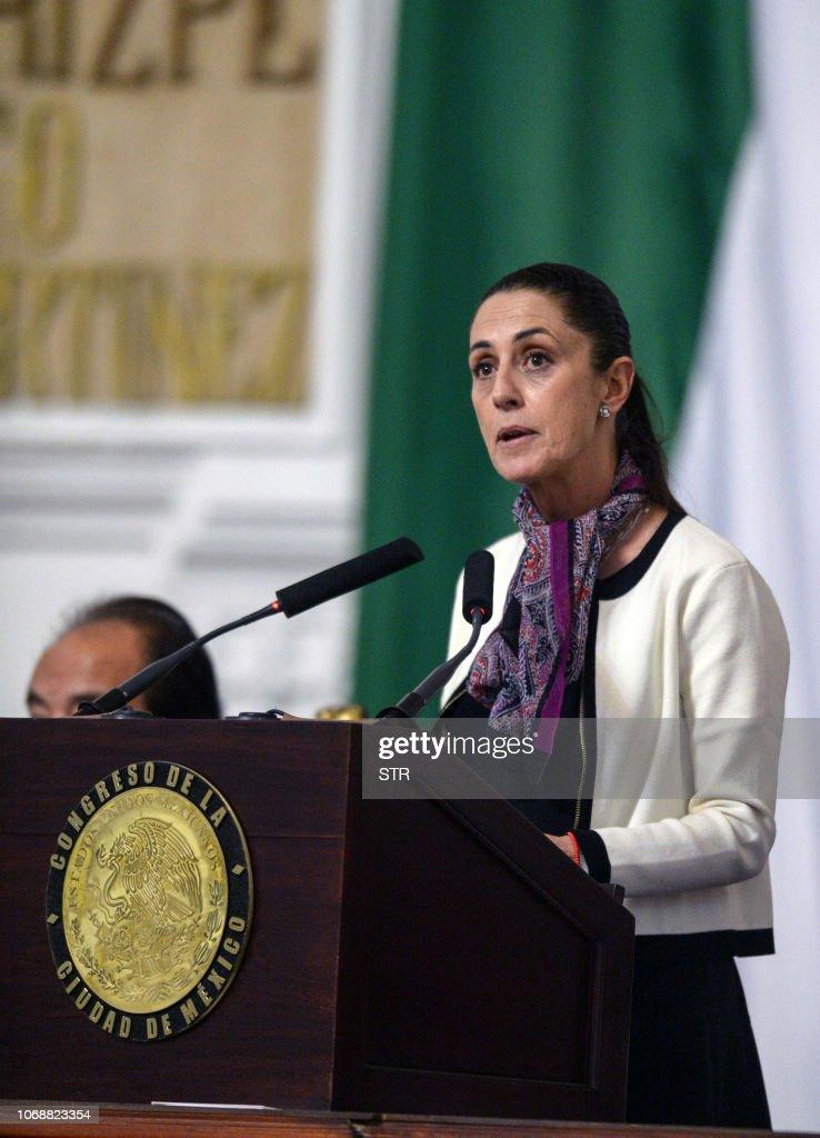 MEXICO-INAUGURATION-SHEINBAUM : News Photo