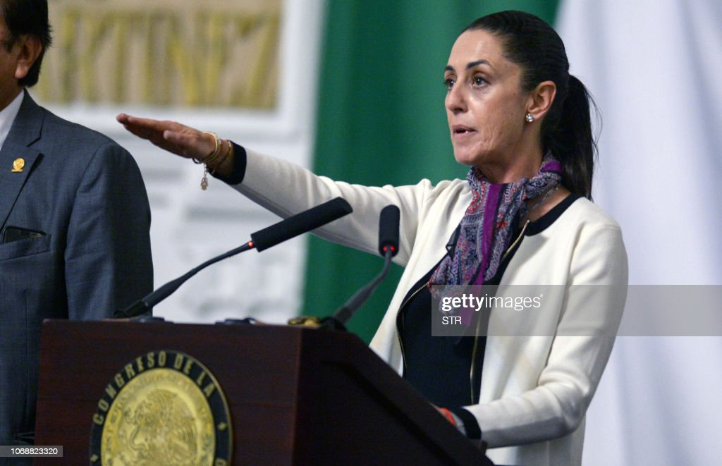 MEXICO-INAUGURATION-SHEINBAUM : News Photo