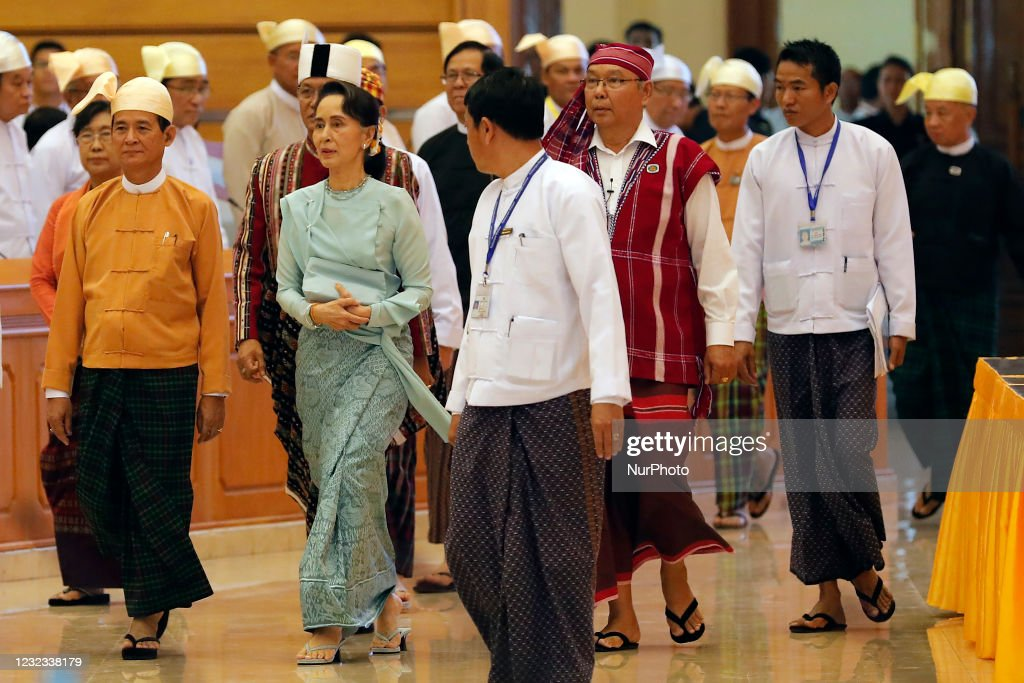 CRPH Announces The Formation Of The National Unity Government In Myanmar : News Photo