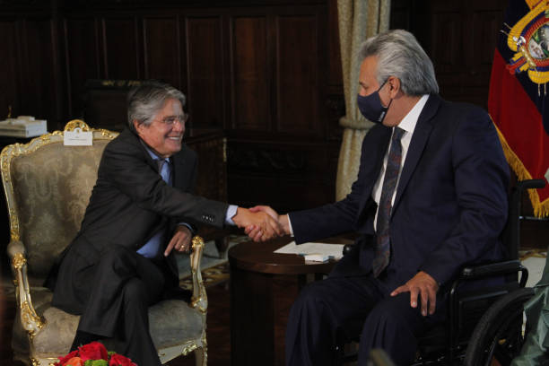 ECU: Newly Elected President Lasso Meets Outgoing Lenin Moreno