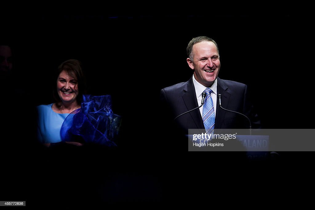 John Key Elected 39th Prime Minister Of New Zealand : News Photo