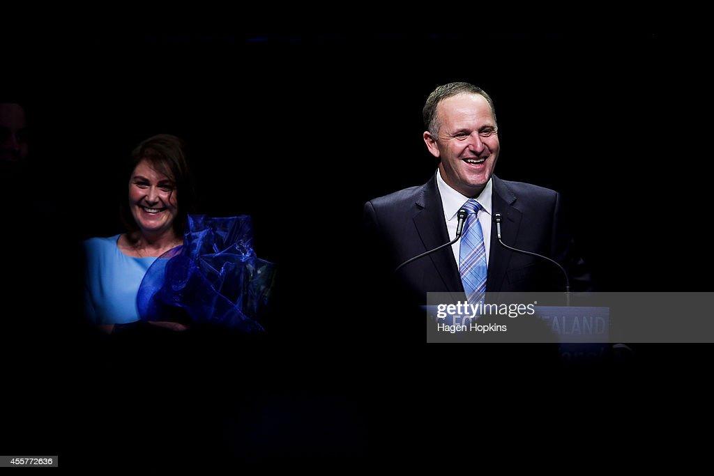 John Key Elected 39th Prime Minister Of New Zealand : Nachrichtenfoto