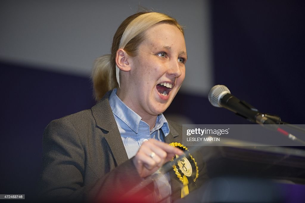 BRITAIN-VOTE : News Photo