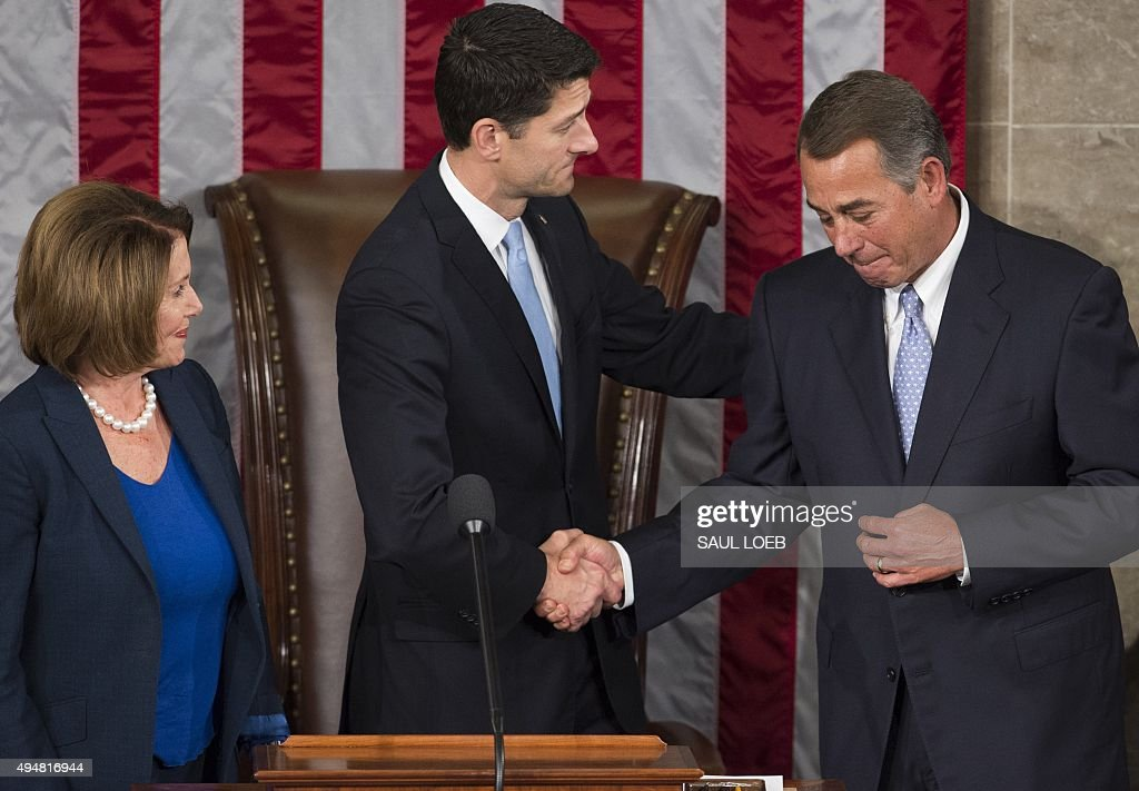 US-POLITICS-CONGRESS-SPEAKER : News Photo