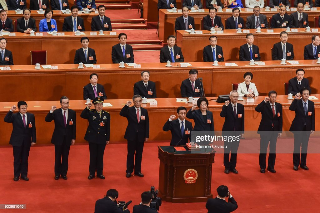 China's National People's Congress (NPC) - Seventh Plenary Meeting : News Photo