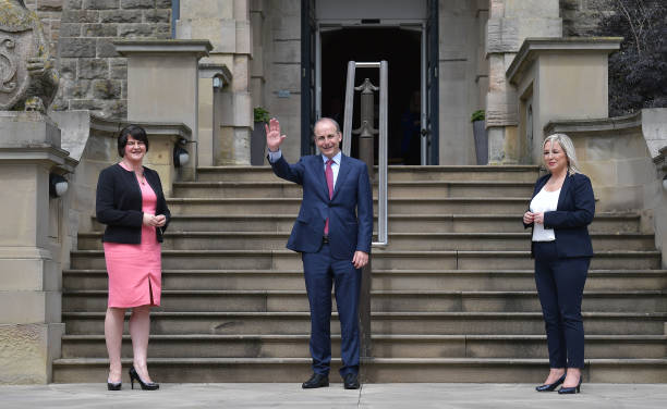 GBR: Ireland's New Taoiseach Meets Northern Ireland Leaders
