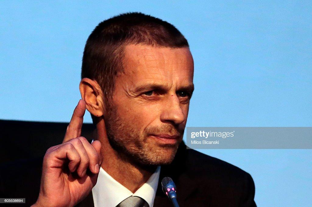 12th Extraordinary UEFA Congress : News Photo