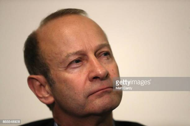 Newly elected UKIP leader Henry Bolton attends their autumn conference on September 29 2017 in Torquay England Bolton is the UKIP party's fourth...