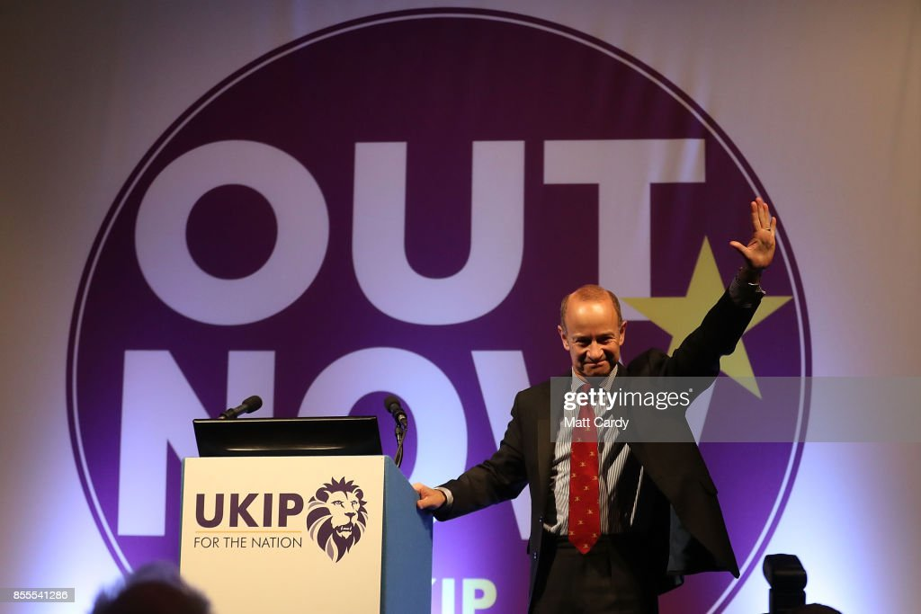 New UKIP Leader Is Announced at Autumn Conference