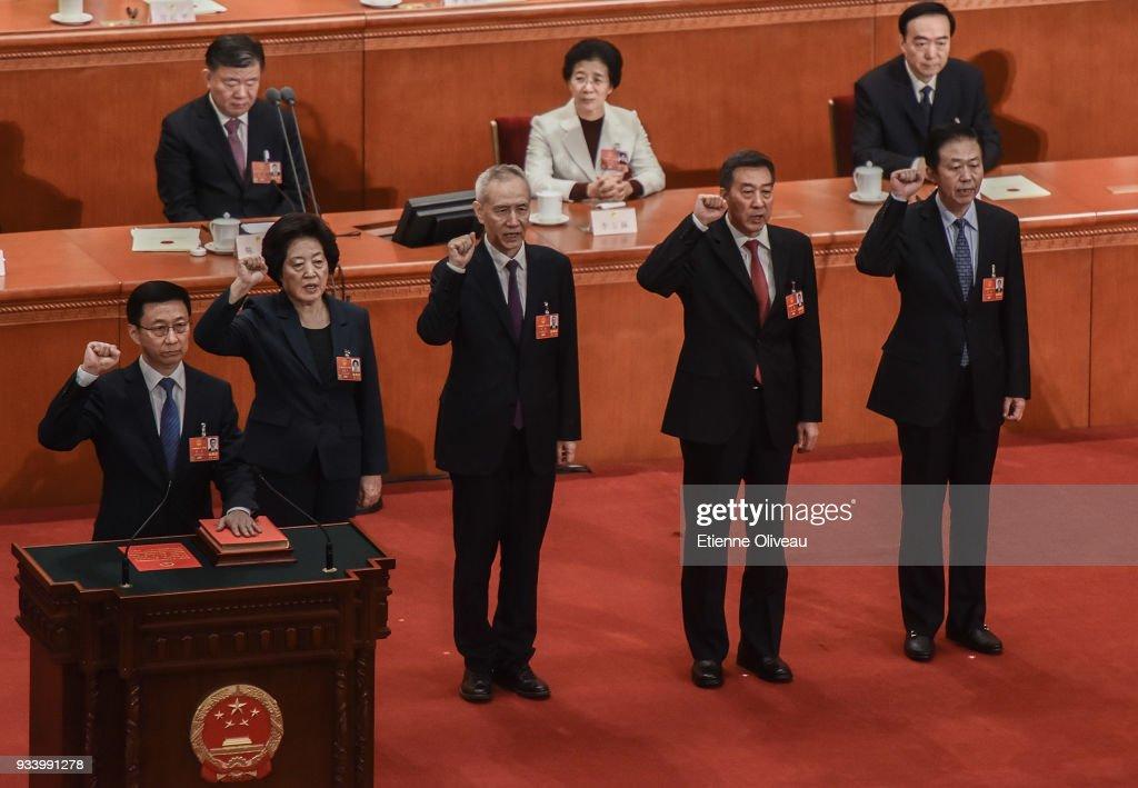 China's National People's Congress (NPC) - Seventh Plenary Meeting : ニュース写真
