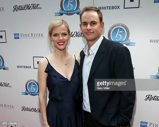 Newly expecting couple Brooklyn Decker and Andy Roddick attend the 10th Annual Andy Roddick Foundation Gala at ACL Live on May 4 2015 in Austin Texas