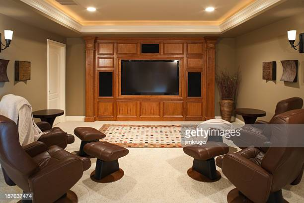 Newly finished home theatre.
