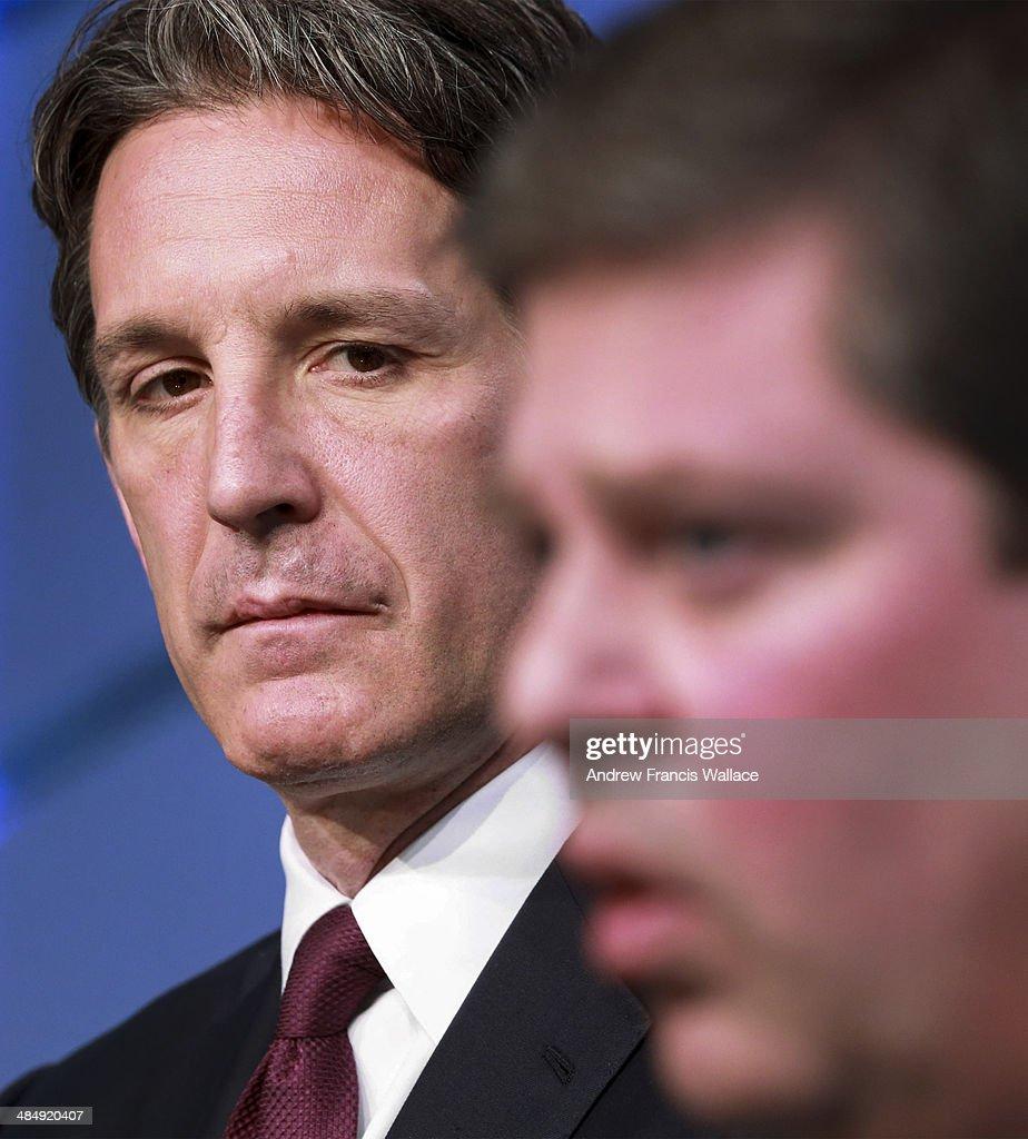 Brendan Shanahan introduced as Maple Leafs president : News Photo