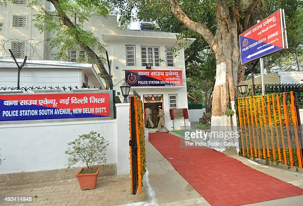 Newly Inaugurated South Avenue Police Station in New Delhi