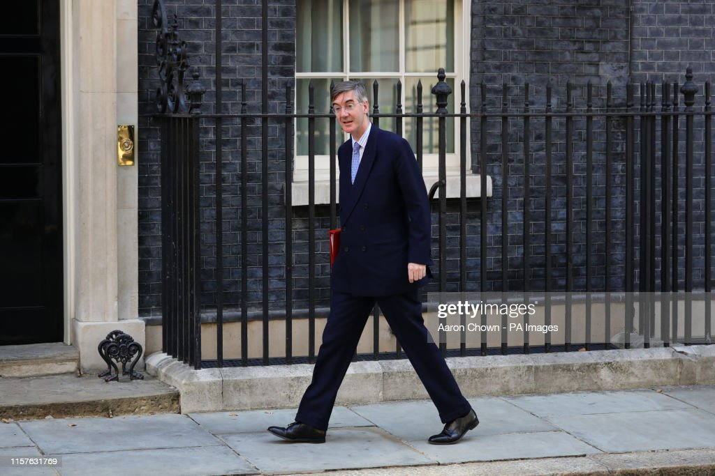 Newly installed Leader of the House of Commons Jacob Rees