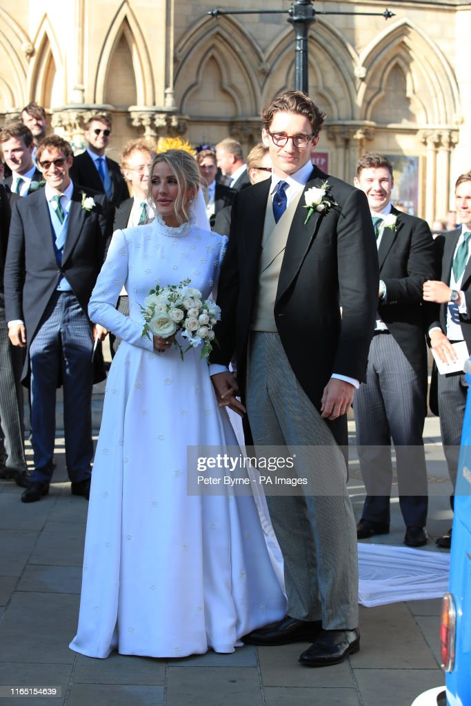 Ellie Goulding wedding : News Photo