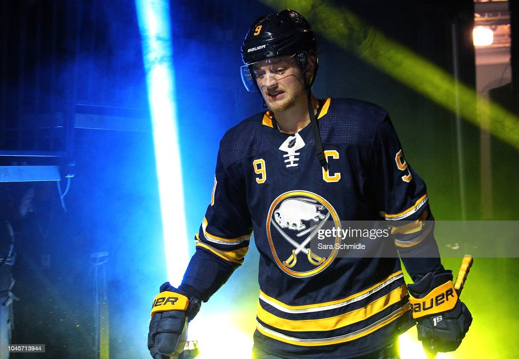 size 40 8d06b 1542b Newly named captain Jack Eichel of the Buffalo Sabres ...