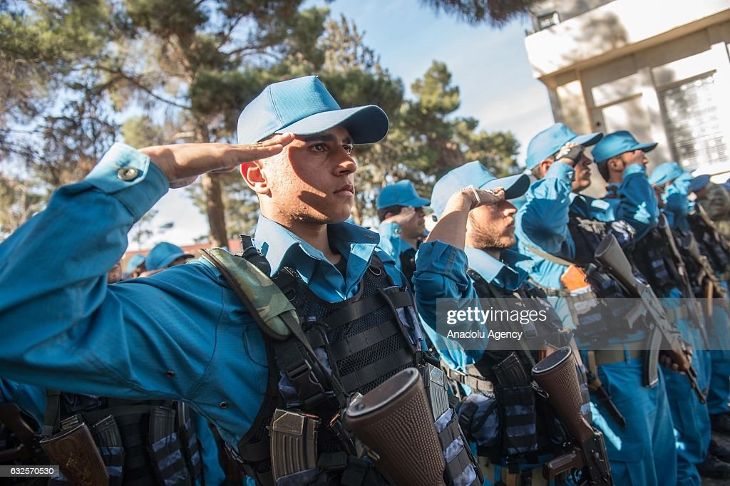 New Police Department in Syria's Jarabulus  : News Photo