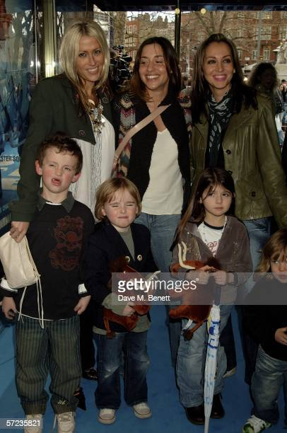Newly reformed All Saints Nicole Appleton, Melanie Blatt and Natalie Appleton with Liam Gallagher's sons, Lennon and Gene Appleton-Gallagher,...