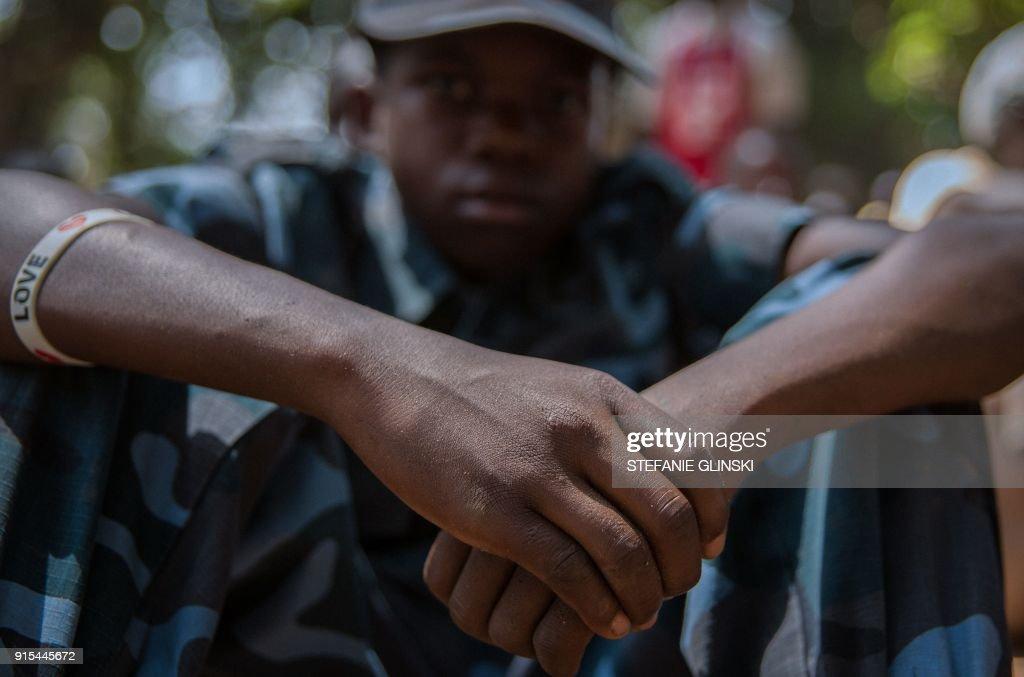 SSUDAN-CONFLICT-CHILDREN : News Photo