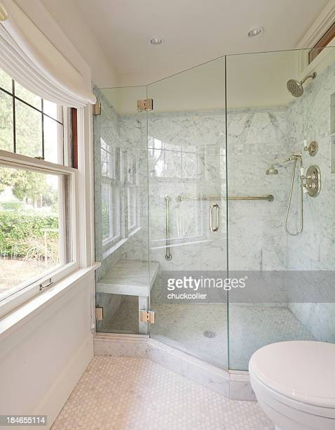 Newly remodeled modern bathroom