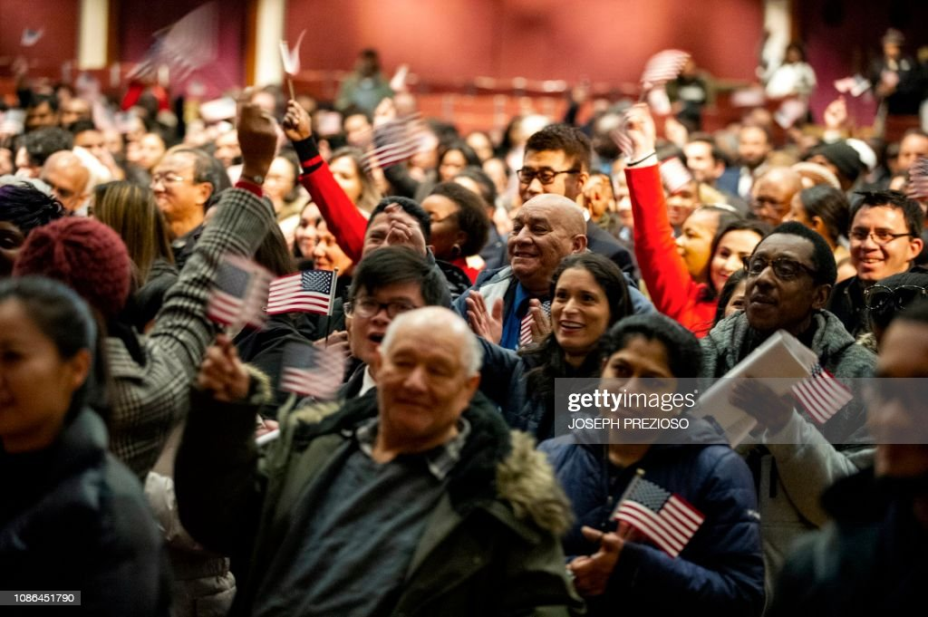 US-politics-immigration : News Photo