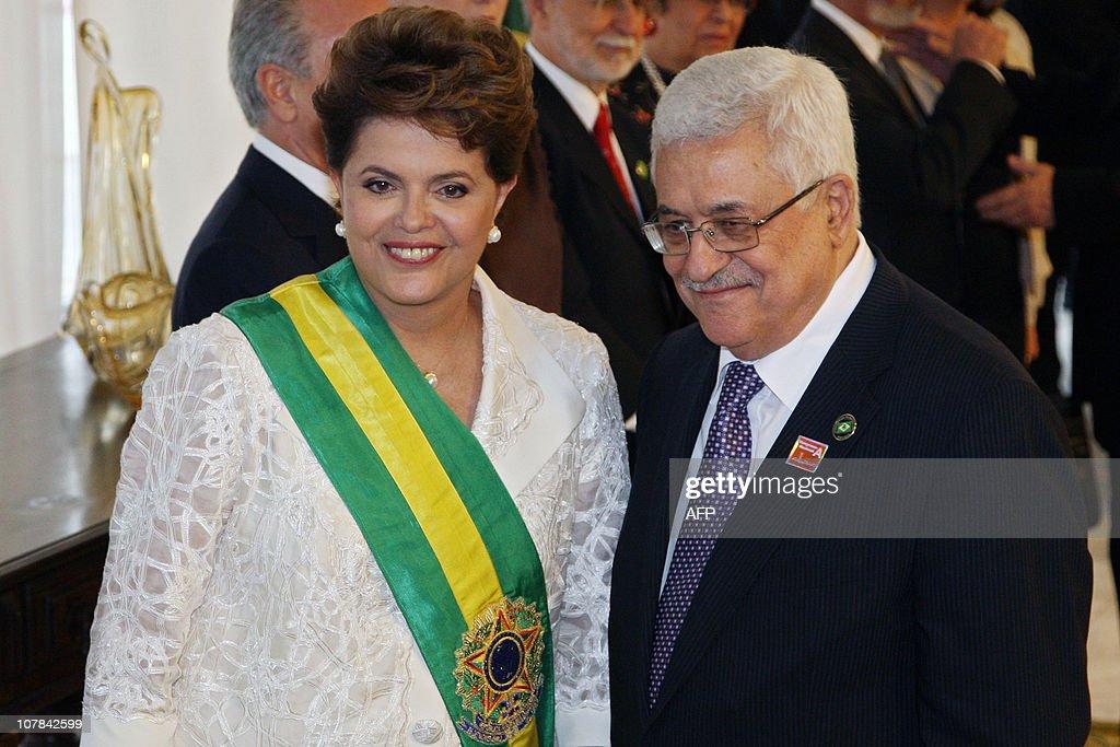 Newly sworn-in Brazilian President Dilma : News Photo