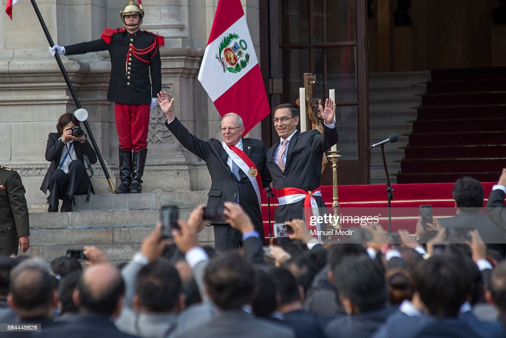 Pedro Pablo Kuczynski Takes Office in Peru : News Photo