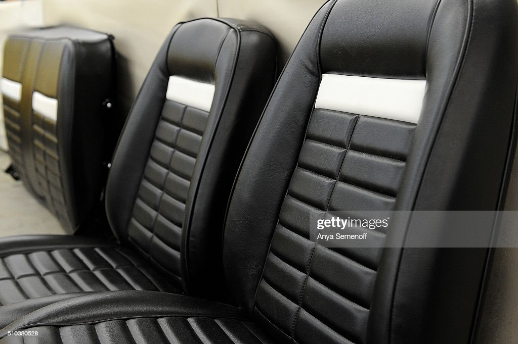 Newly upholstered seats at Mr  Sid's Fine Auto & RV