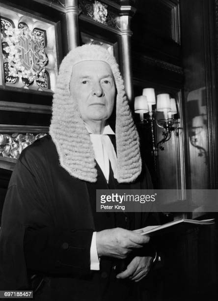Newlyappointed British Speaker of the House of Commons Selwyn Lloyd 15th January 1971