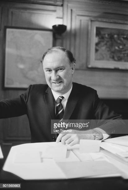 Newlyappointed DirectorGeneral of the BBC Charles Curran 1st April 1969