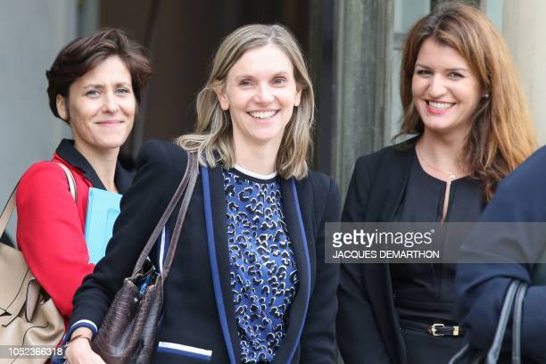 Newlyappointed French deputy minister to the Health and solidarity minister Christelle Dubos newlyappointed French deputy minister to the Economy...
