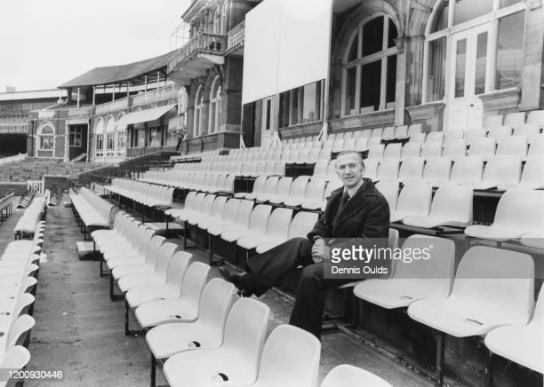 Newlyappointed manager of Surrey County Cricket Club Micky Stewart at The Oval London 1st March 1979 Stewart had previously captained the side from...