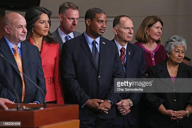 Newlyelected House Democratic Members Mark Pocan Tulsi Gabbard Matt Cartwright Steven Horsford Bill Enyart Ann Kirkpatrick and Gloria Negrete McLeod...