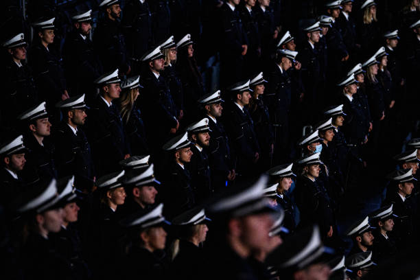 DEU: 2,750 New Police Officers Take Oath Of Service