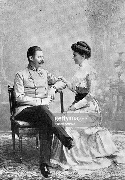 Newlymarried royal couple Franz Ferdinand Archduke of AustriaEste and Sophie Duchess of Hohenberg 1900 The couple were assassinated in Sarajevo on...