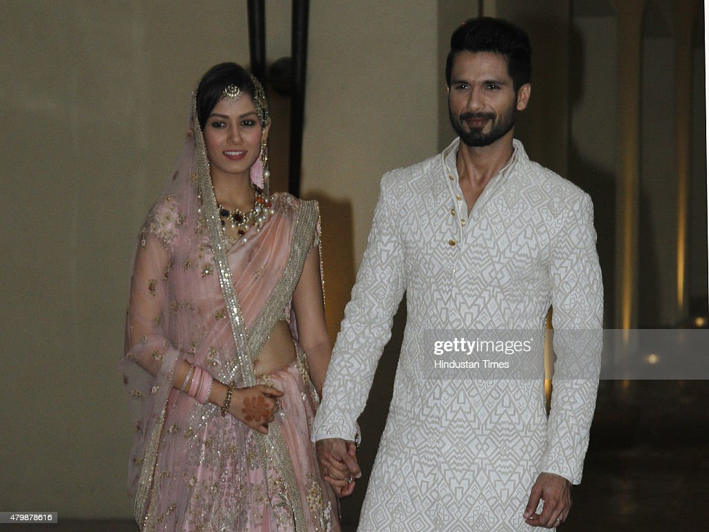 Wedding Ceremony Of Bollywood Actor Shahid Kapoor And Bride Mira Rajput In Gurgaon