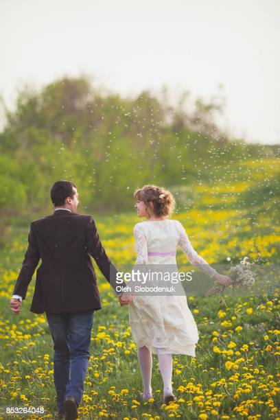 Hétérosexuels mariés dans le domaine
