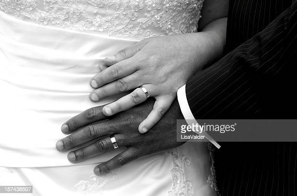 newlywed - man holding engagement ring stock photos and pictures