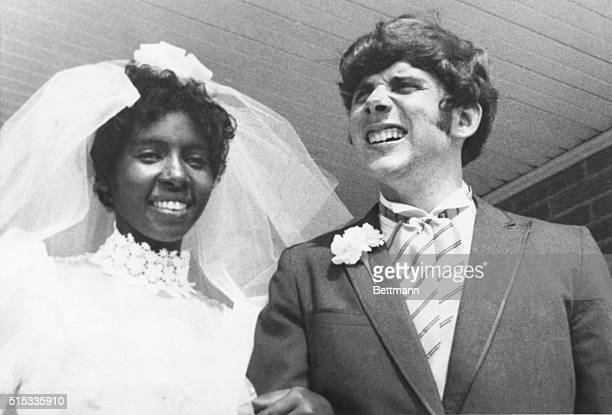 Newlyweds Berta and Roger Mills shown here on their wedding day 8/2 are currently living in a modest Jackson apartment They were married after a...