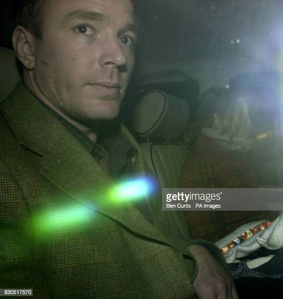Newlyweds Guy Ritchie and Madonna leave Skibo Castle near Dornoch in Scotland the day after their wedding