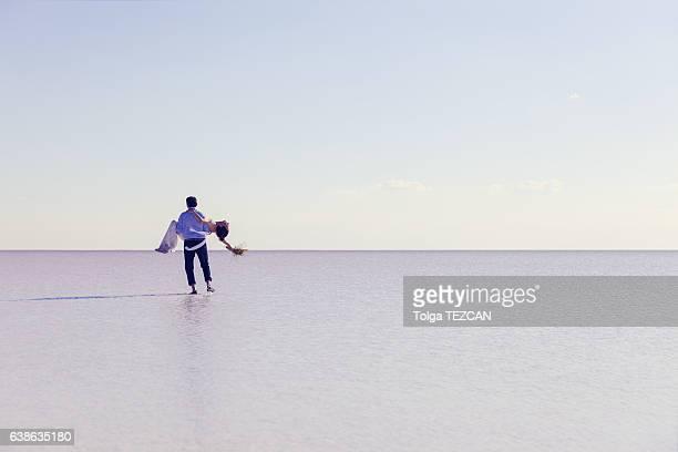 Brautpaar in Salt Lake City, Türkei