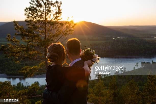 newlyweds - newlywed stock pictures, royalty-free photos & images
