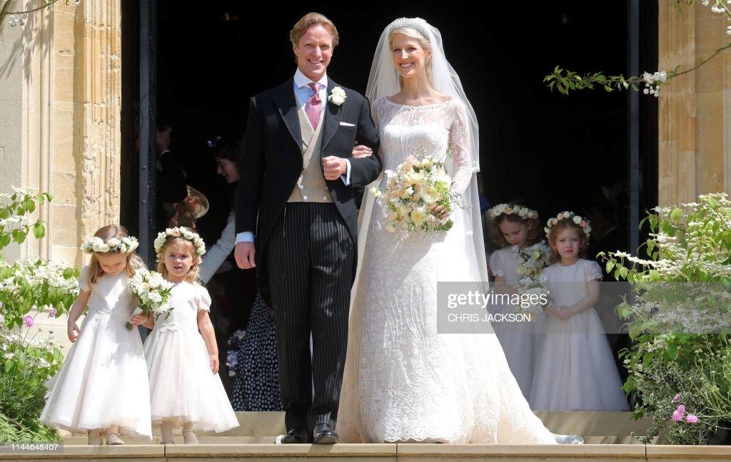 TOPSHOT-BRITAIN-ROYALS-WEDDING : Foto jornalística
