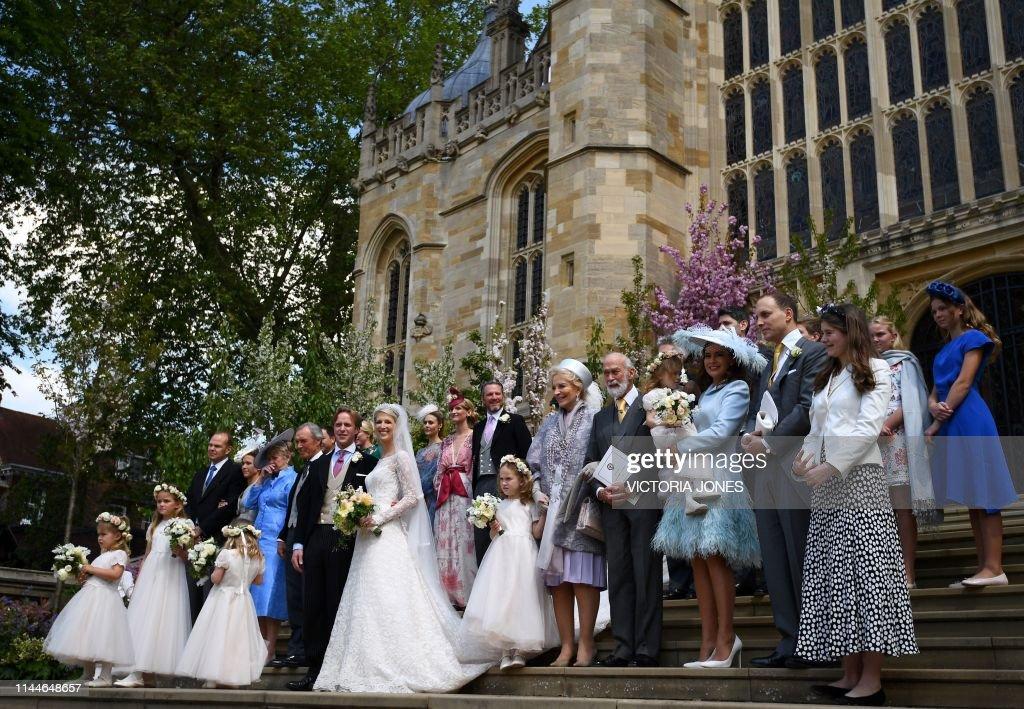 BRITAIN-ROYALS-WEDDING : News Photo