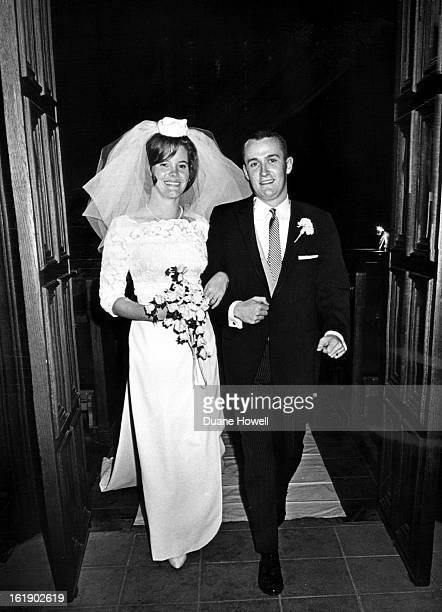 DEC 28 1964 DEC 29 1964 Newlyweds Will Live In Cambridge Mass Newlywed Mr and Mrs Barkley Clark leave St John's Cathedral after their candlelight...