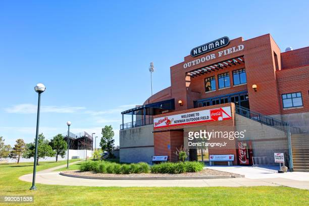 newman outdoor field in fargo - north dakota stock pictures, royalty-free photos & images